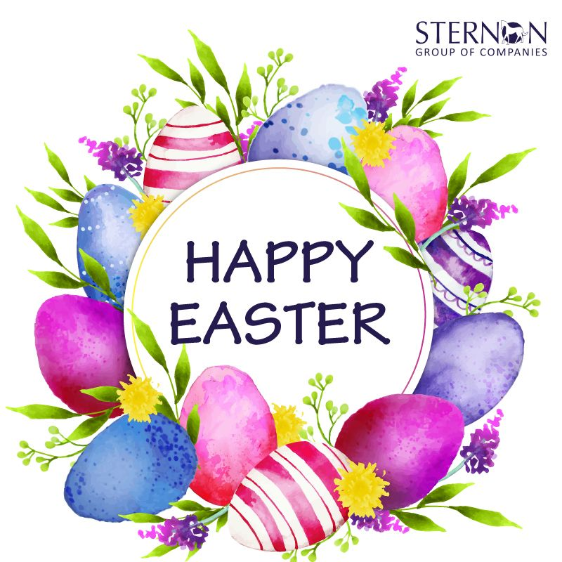 Sternon Fortune Star Happy Easter Card Happy Easter Sunday Happy Easter