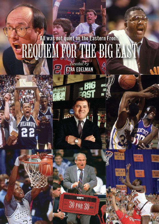 1444. 30 for 30 Requiem for the Big East, March, 2018