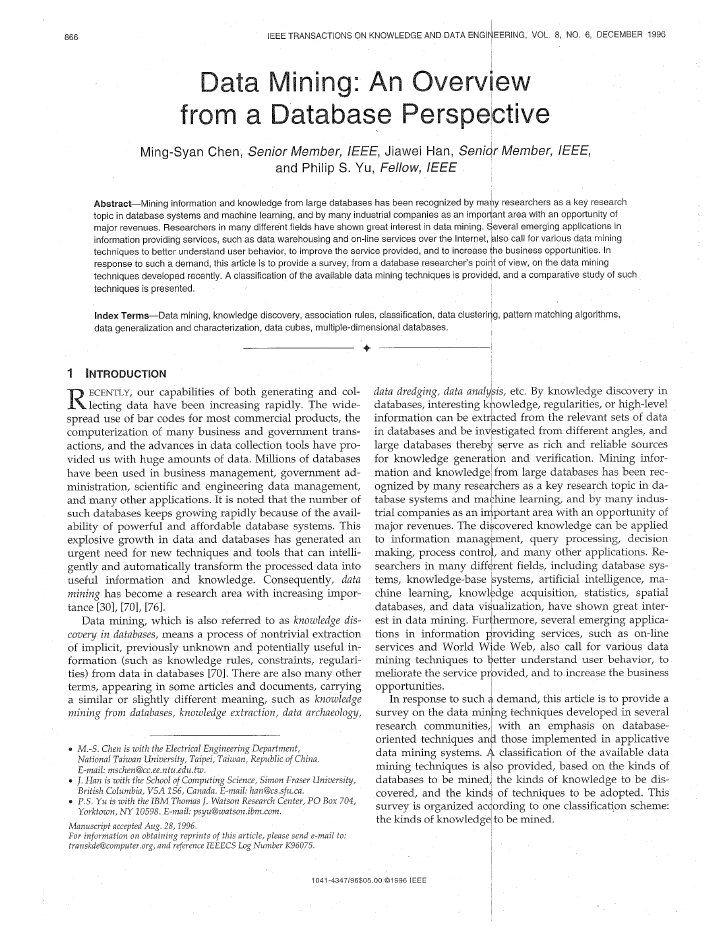 Data mining data mining data data analysis