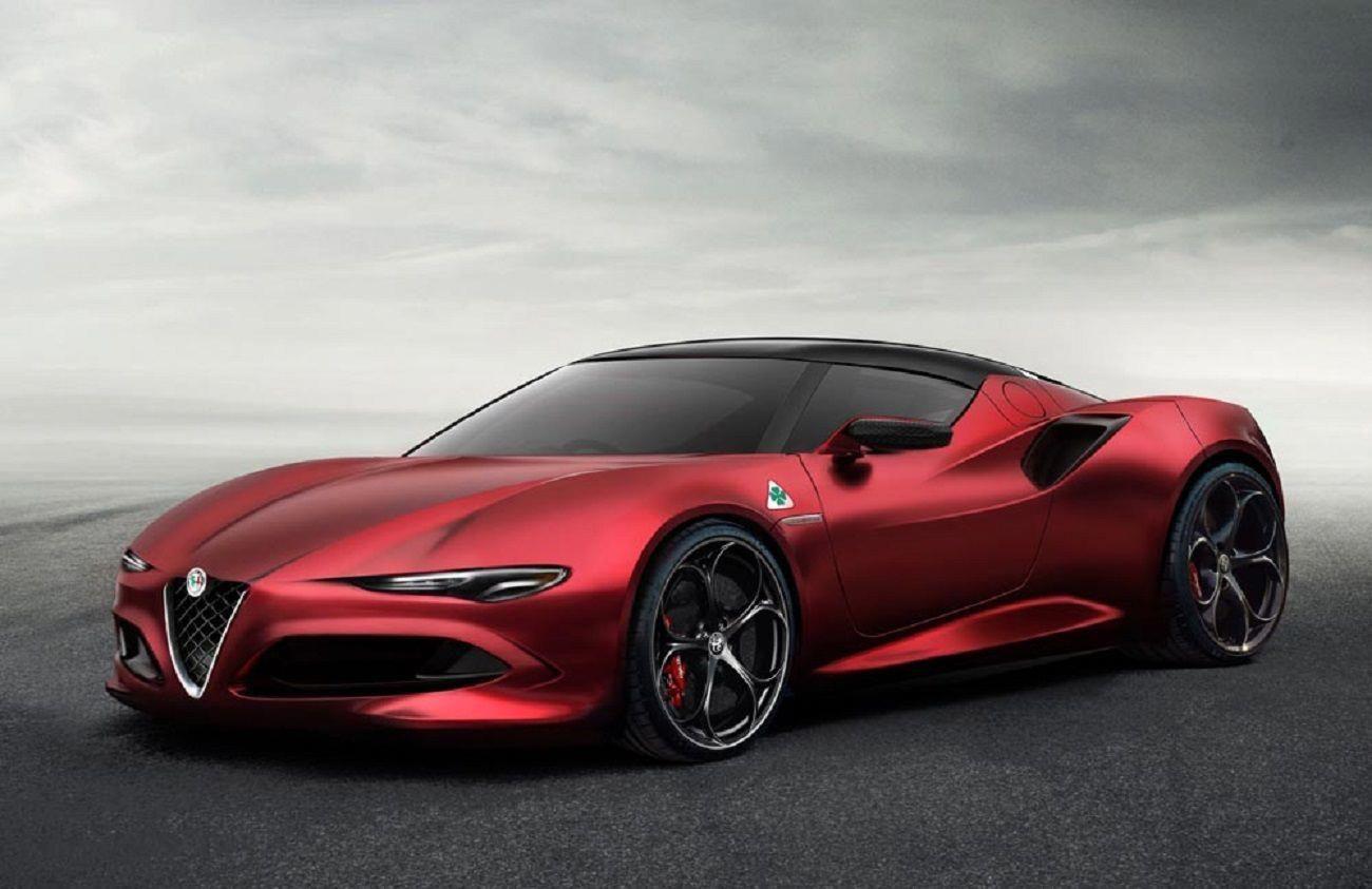 Alfa Romeo 8C ecco l'ultima ipotesi alfaromeo Alfa