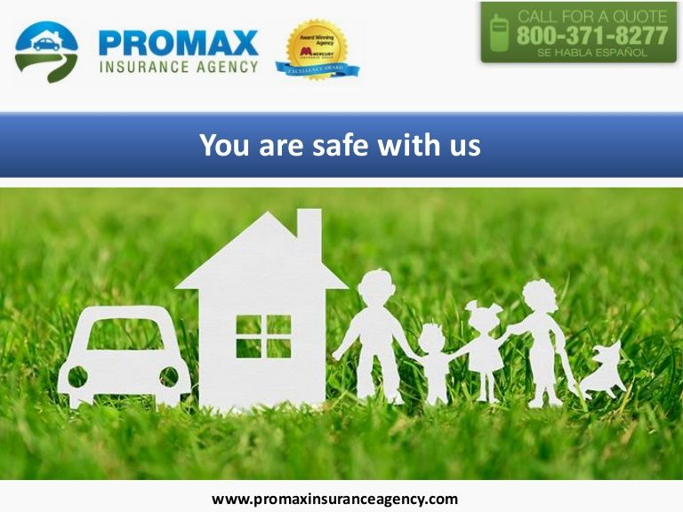 Mercury Insurance Quote Enchanting Promax Insurance Agency Is A Mercury Insurance Authorized Agent