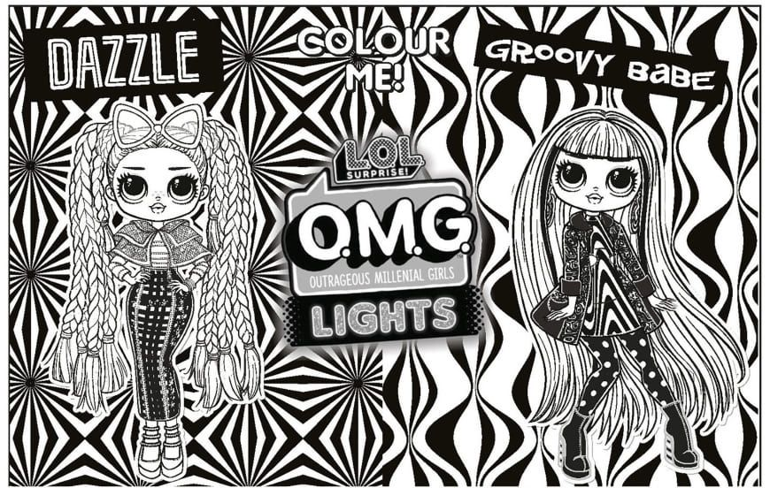 19+ Coloring pages lol omg dolls info