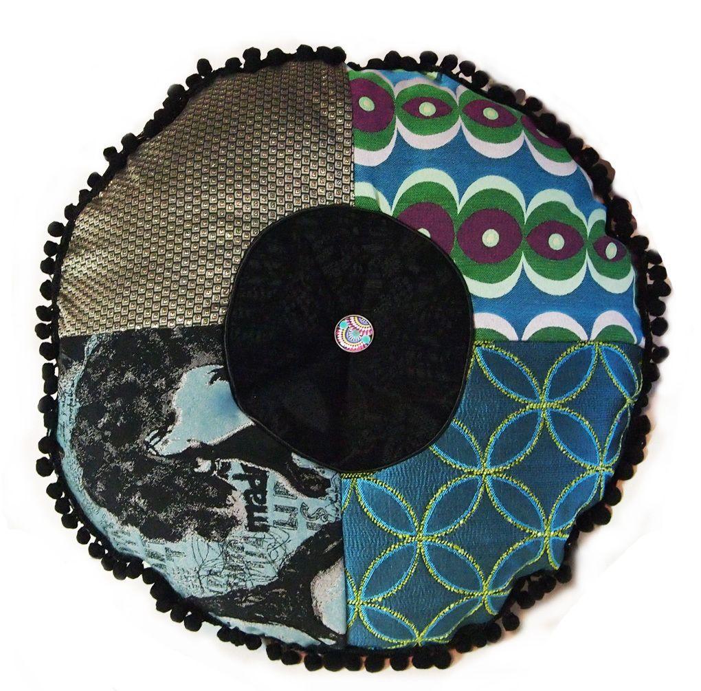 Desigual Marilaina round pillow mulit