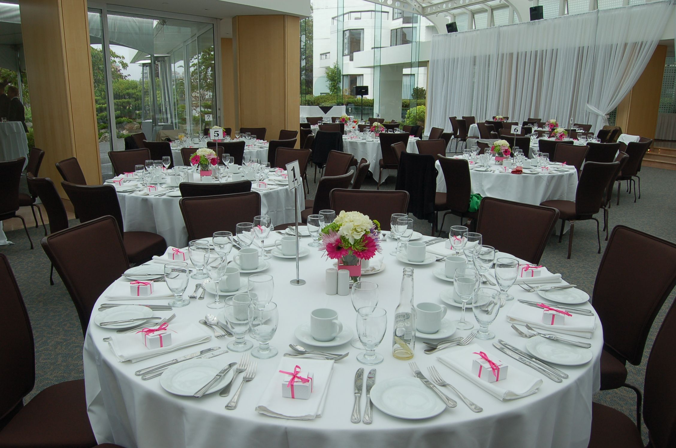 Pink wedding tables pink wedding table decor yard garden pink wedding table decor junglespirit Images
