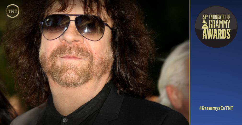 """""""⚡ Leyendas del rock ⚡ Jeff Lynne de ELO quien toma el escenario de #GrammysEnTNT para hacernos bailar, ¡woohoo!"""""""