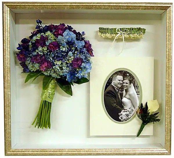 Dried Bridal Bouquet #wedding #bouquet #keepsake