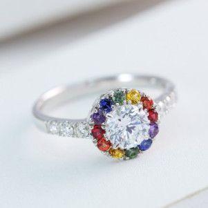 lesbian wedding rings a shopping guide - Lesbian Wedding Rings