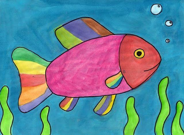 Kids Painted Fish Super Art Land:...