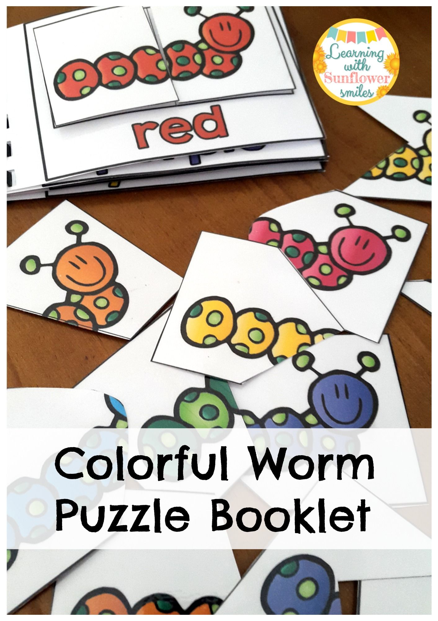 Color Puzzles Worms