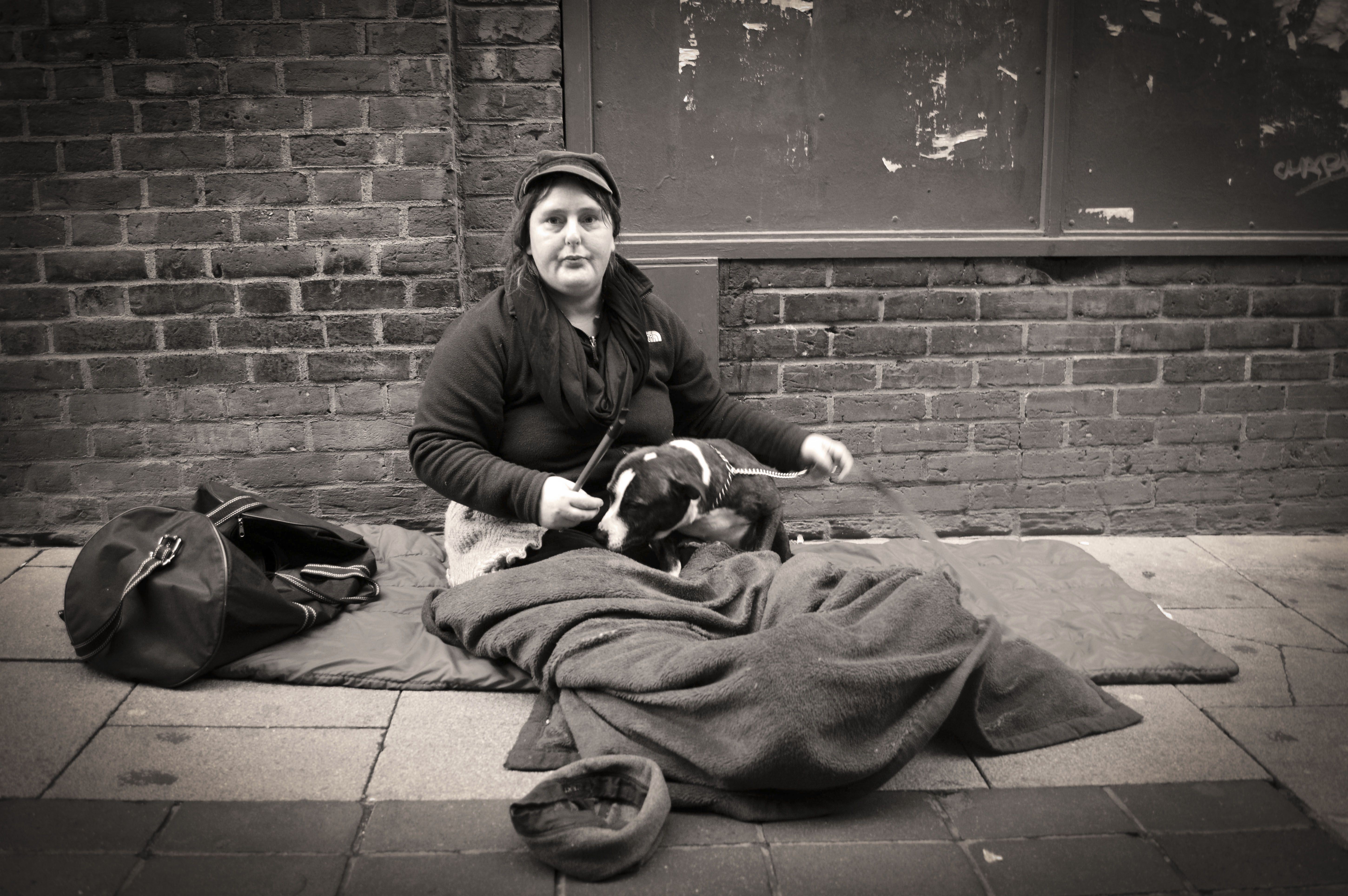 Homeless Woman - Streets of Norwich
