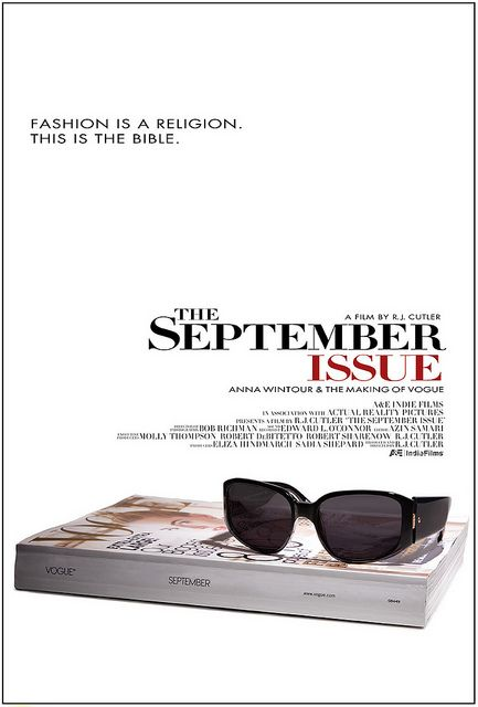 The September Issue Movie Poster Fashion Documentaries Documentaries Movie Fashion
