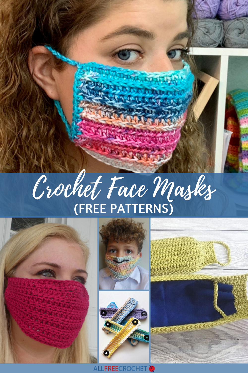 Photo of For those of you looking to crochet a mask, we've compiled a few of the best fea…