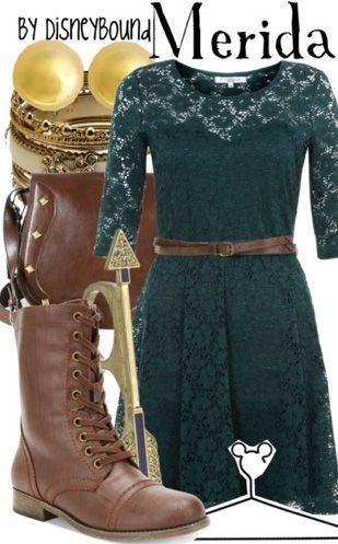 Merida DisneyBound