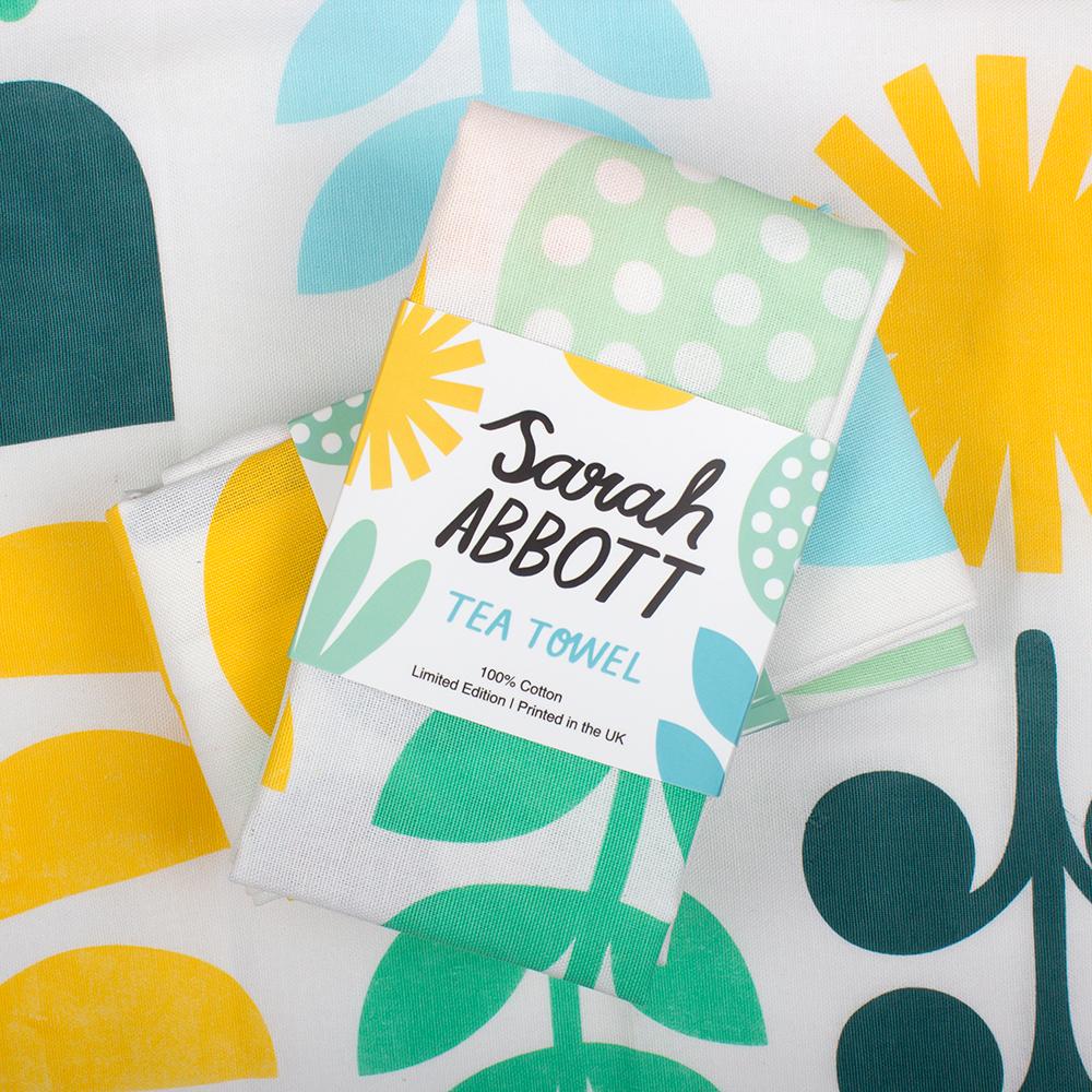 Awesome tea towels for Sarah Abbott!  http://www.sarah-abbott.co.uk/