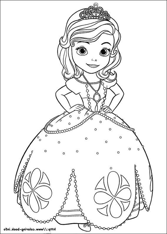 The Best sofia the first coloring page - http://coloring.alifiah.biz ...