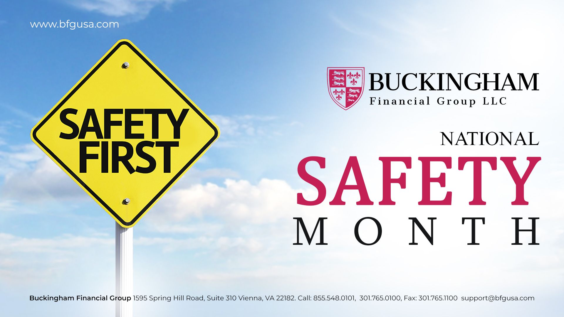 June is national safety month. Do more to keep your loved
