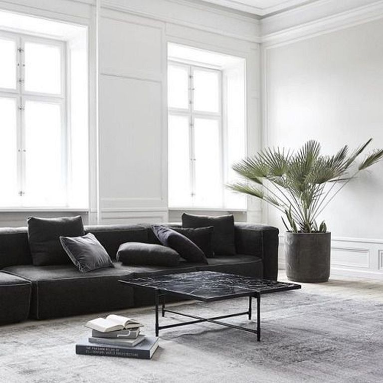 50 Brilliant Living Room Decor Ideas In 2019: 50+ Elegant Minimalist Living Room Decor Ideas