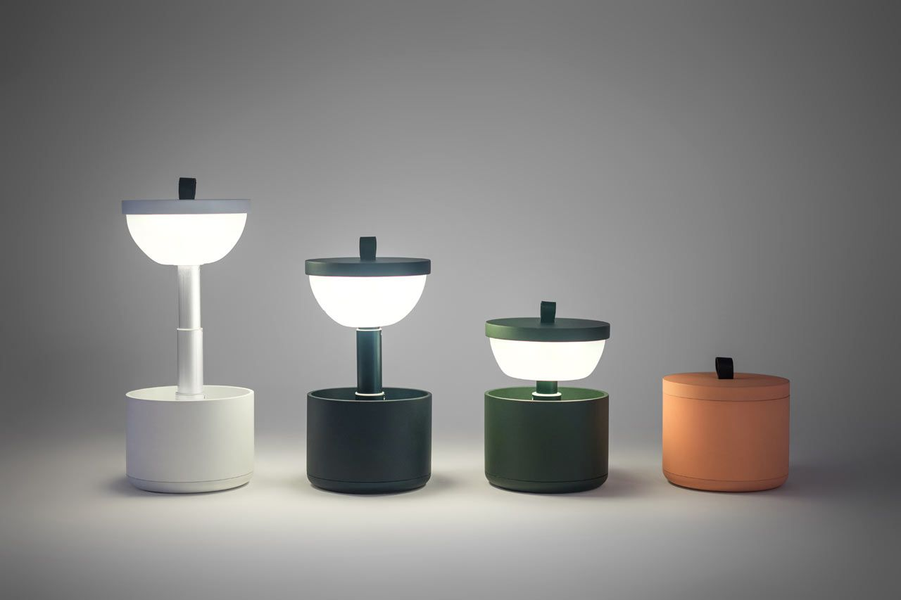 Charming Bento: A Portable, Interactive Lamp From Yuue Design   Design Milk