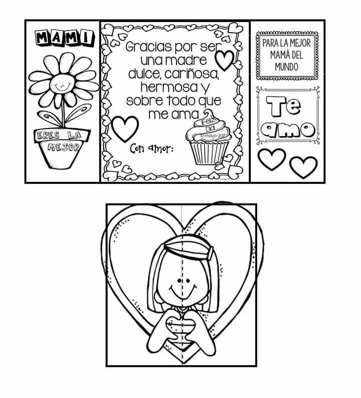 Pin De Yeral Rosales En свято мами Tarjetas Para Mamá Manualidades Dia De Las Madres Tarjetas Interactivas