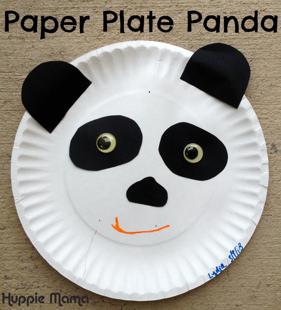 Paper Plate Panda Preschool Craft & Paper Plate Panda Preschool Craft | Kids Animal Crafts | Pinterest ...