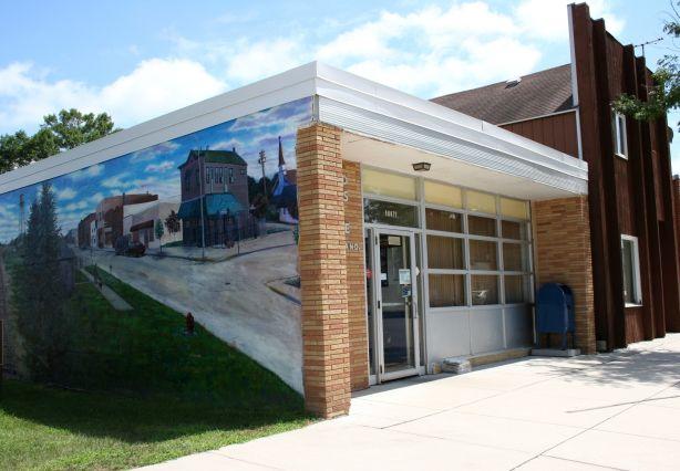 Small Town Minnesota Murals Grassroots Art Mural Office Mural Street Mural