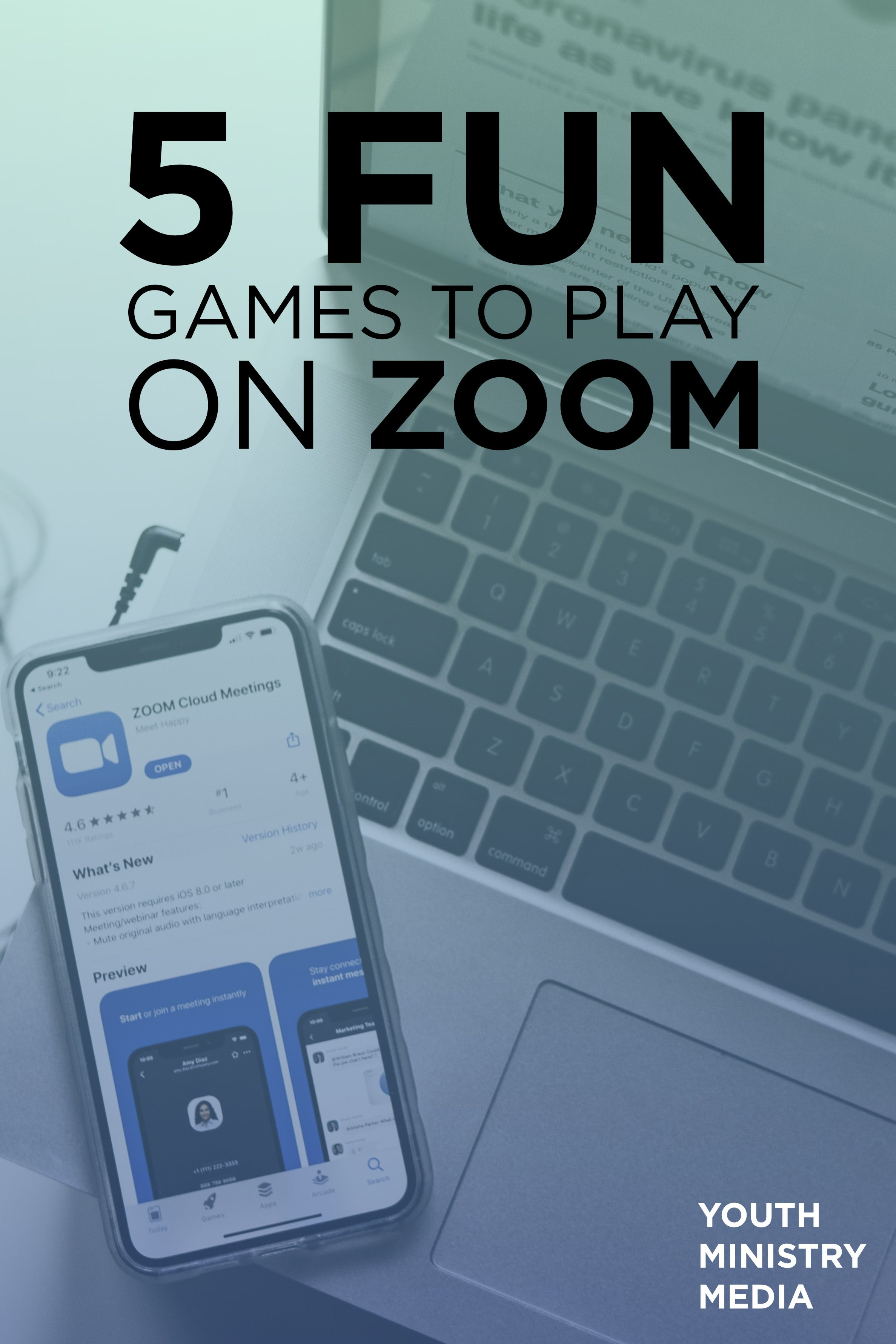 5 Fun Zoom Games To Play With Your Youth Ministry In 2020 Youth Ministry Games Youth Ministry Youth Games