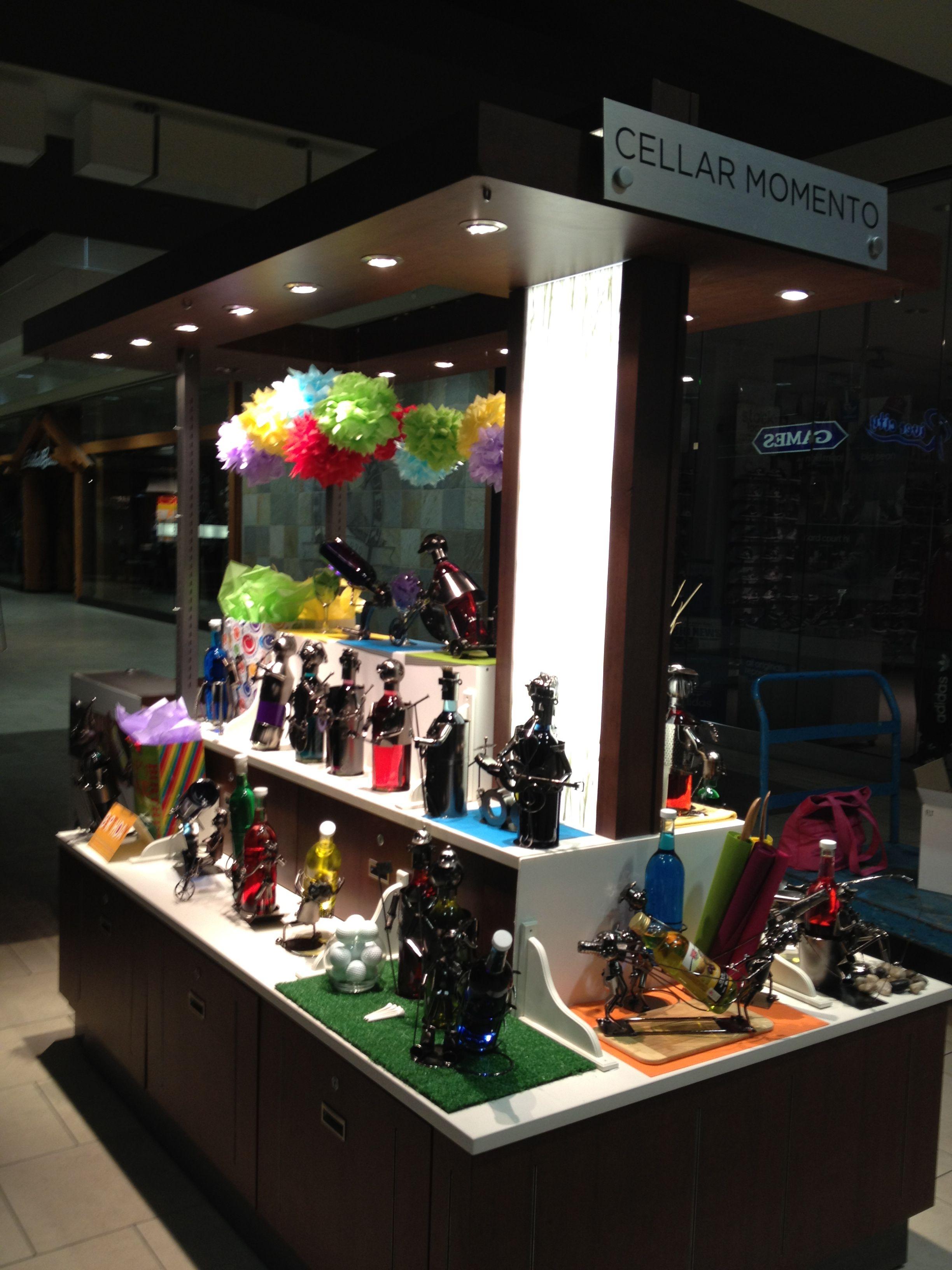 Cellar Momento Cart By Flourish Design & Merchandising Visual Merchandising,