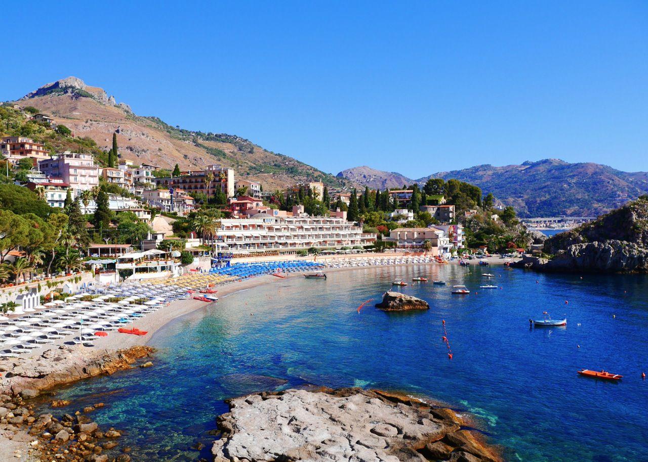 Mazzaro Bay, Taormina, Sicily Italy Wanderlust