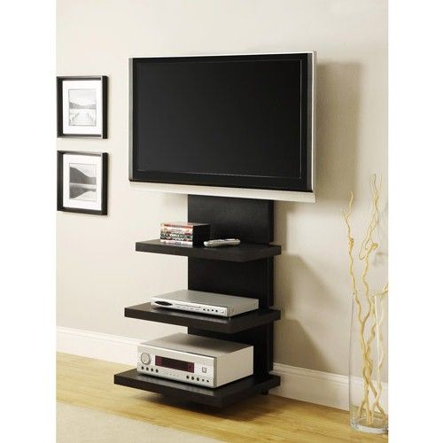 18 chic and modern tv wall mount ideas for living room for Ideas to cover tv wires