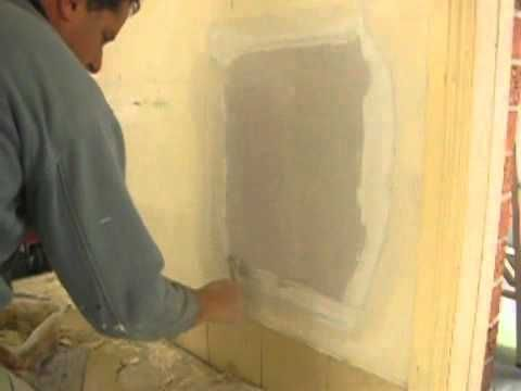Large Plaster Wall Hole Repair Tip Part Two With Images Plaster Walls Plaster Drywall Repair