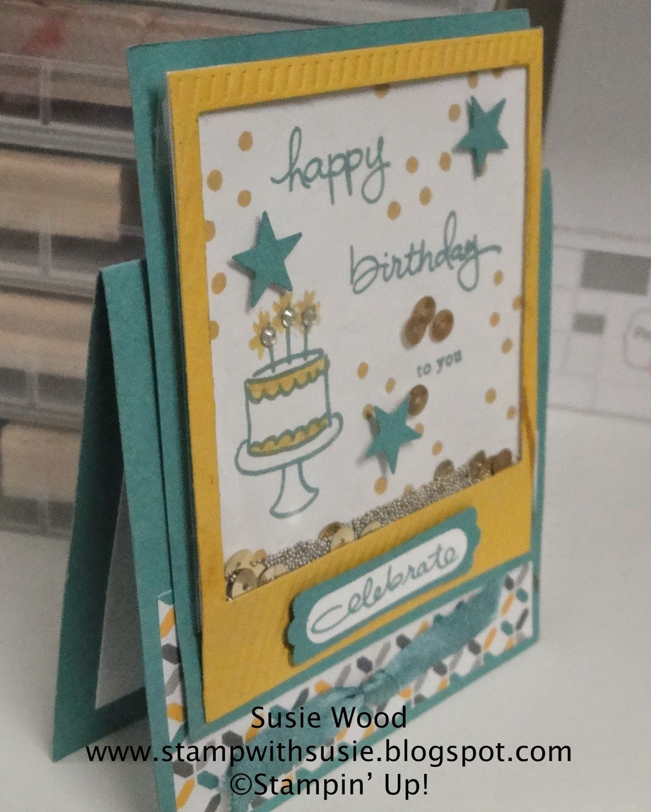 2014 In Colors Stampin Up: Stampin' Up! 2014-2015 In Colors- Lost Lagoon & Hello
