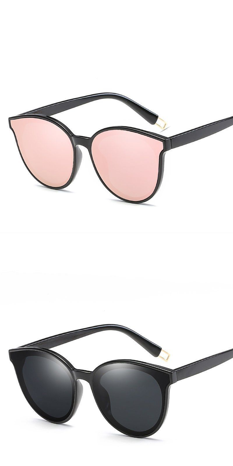 60a778cf1b Fashion women colour luxury flat top cat eye sunglasses elegant oculos de  sol men twin beam oversize sun glasses uv400  sunglasses  eyewear  58mm  cat   eye ...