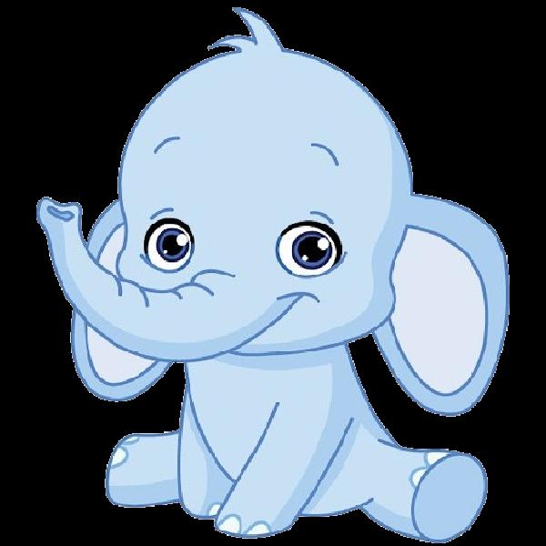 Cute Elephant Free Elephant Clipart Clip Art Pictures Graphics Illustrations Image 29912 Baby Elephant Cartoon Elephant Images Baby Animal Nursery Art