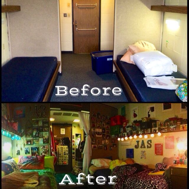 College Dorm Transformation, Look What You Can Do To Spice