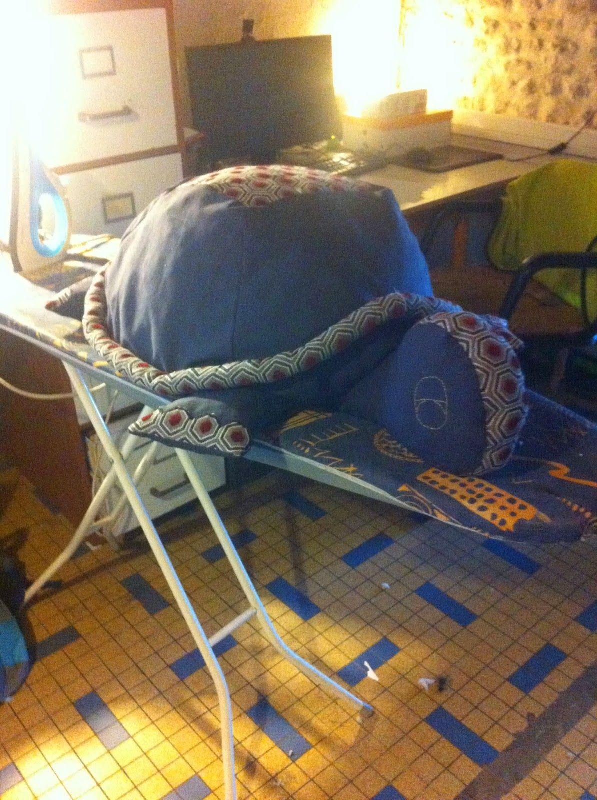 Couture et création: Un peu de couture ... Une tortue géante !!!