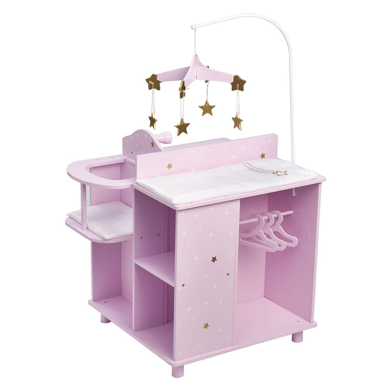 Mobilier De Poupons Poupons Et Accessoires Poupees Table A Langer En