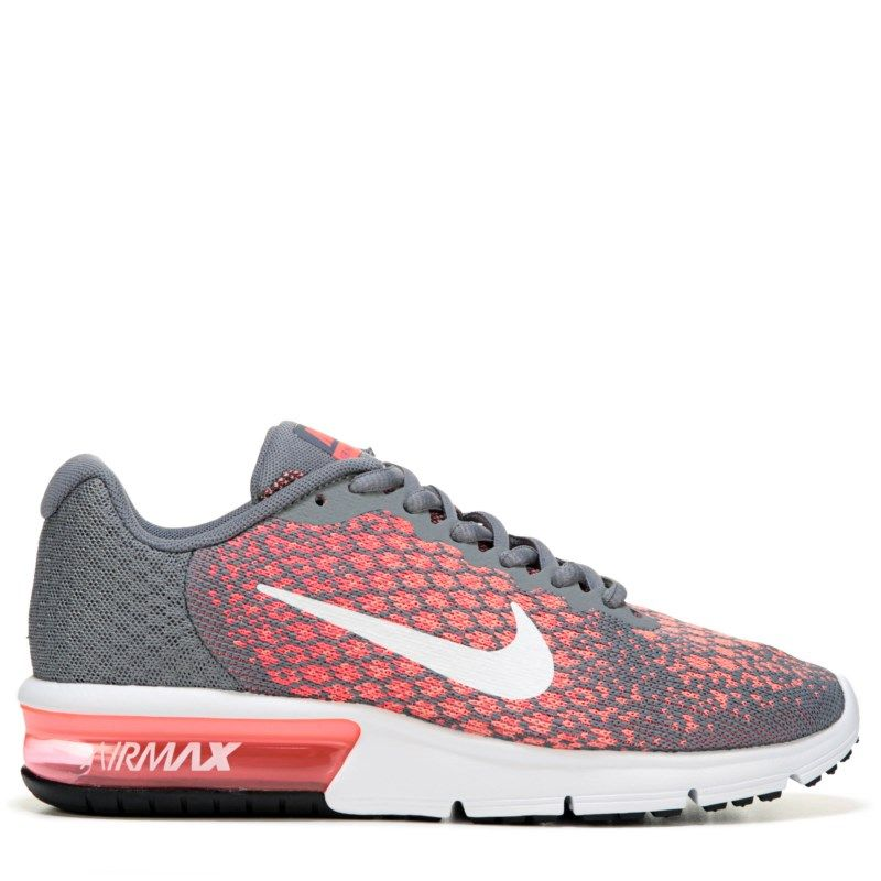 half off 43a69 730cf Nike Womens Air Max Sequent 2 Running Shoes (GreyLava) - 11.0 M