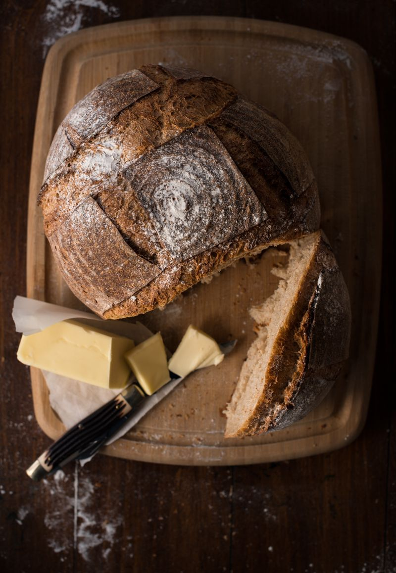 Country Boule from Tin Roof Bakery photography by Shannon