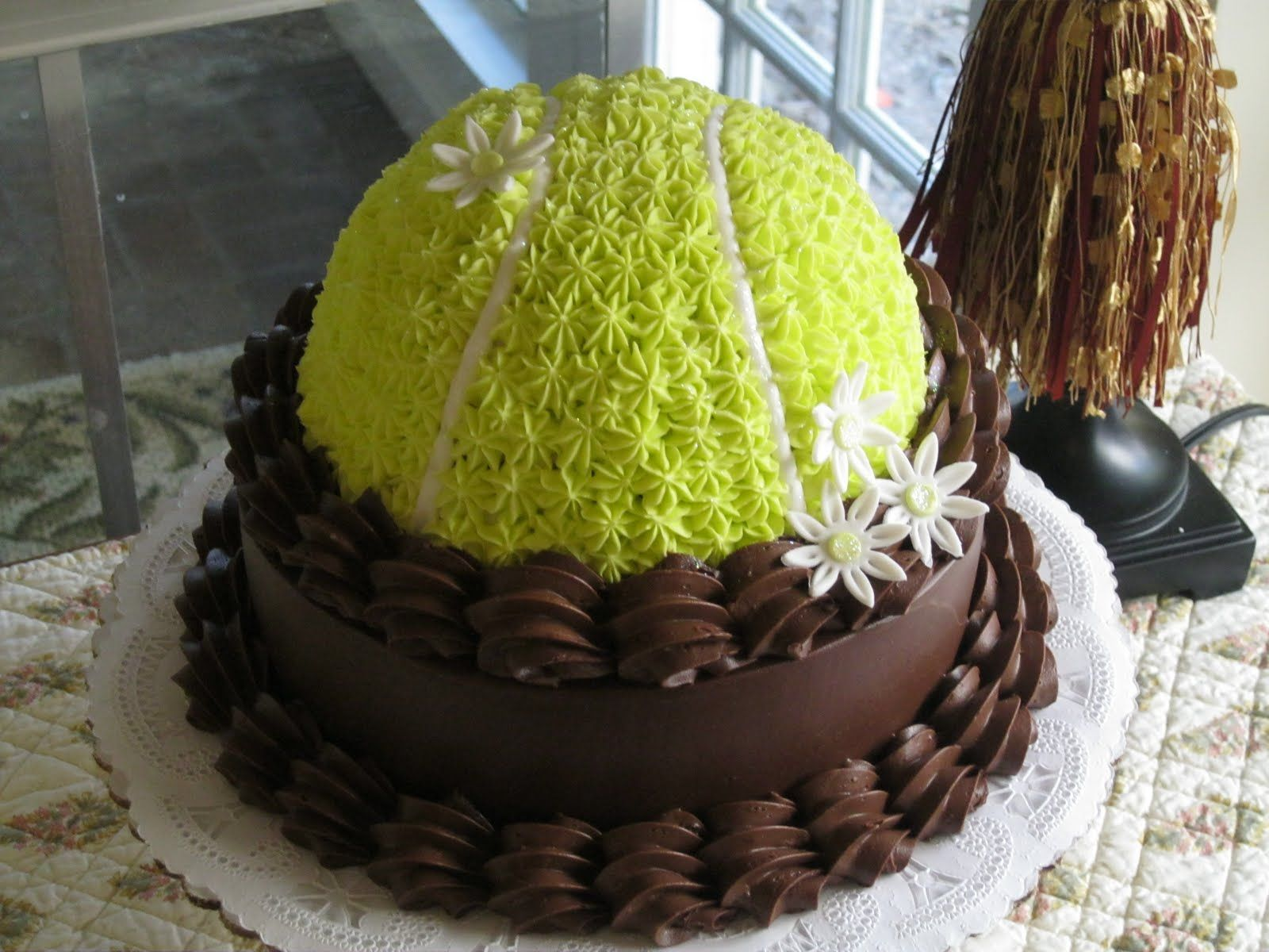 Seeking Sweetness In Everyday Life Tennis Cake Tennis Cupcakes Themed Cakes