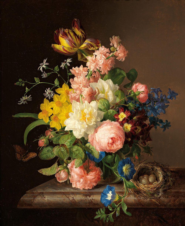 живопись картинки натюрморт цветы вашему вниманию