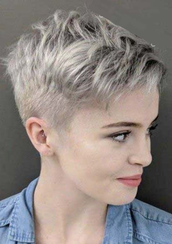 Trendy Styles Of Pixie Haircuts for Short Hair to Wear in 2019