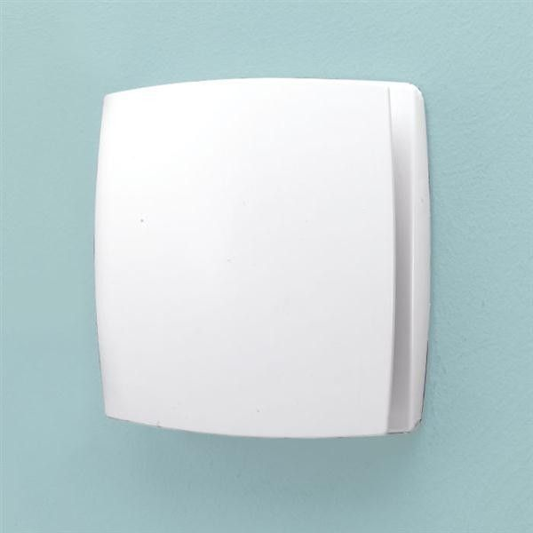 Breeze White Wall Mounted Extractor Fan Timer Extractor Fans Humidity Sensor Wall Fans