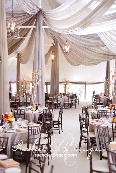 Draping Wedding Tent Decorations Tent Wedding Wedding Decorations