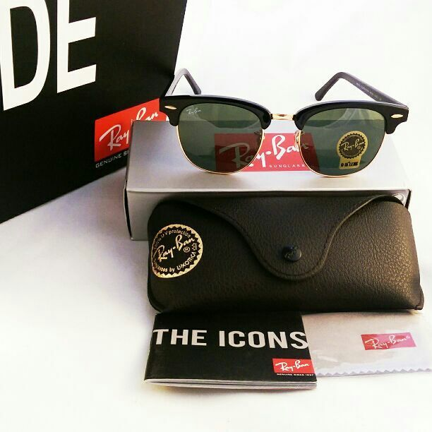 910993388b9 NWT Authentic Ray Ban Clubmaster W0365 up to 60% sale from original outlet  store 100% authentic 100% guaranteed money back in 7 days 100% satisfied ...