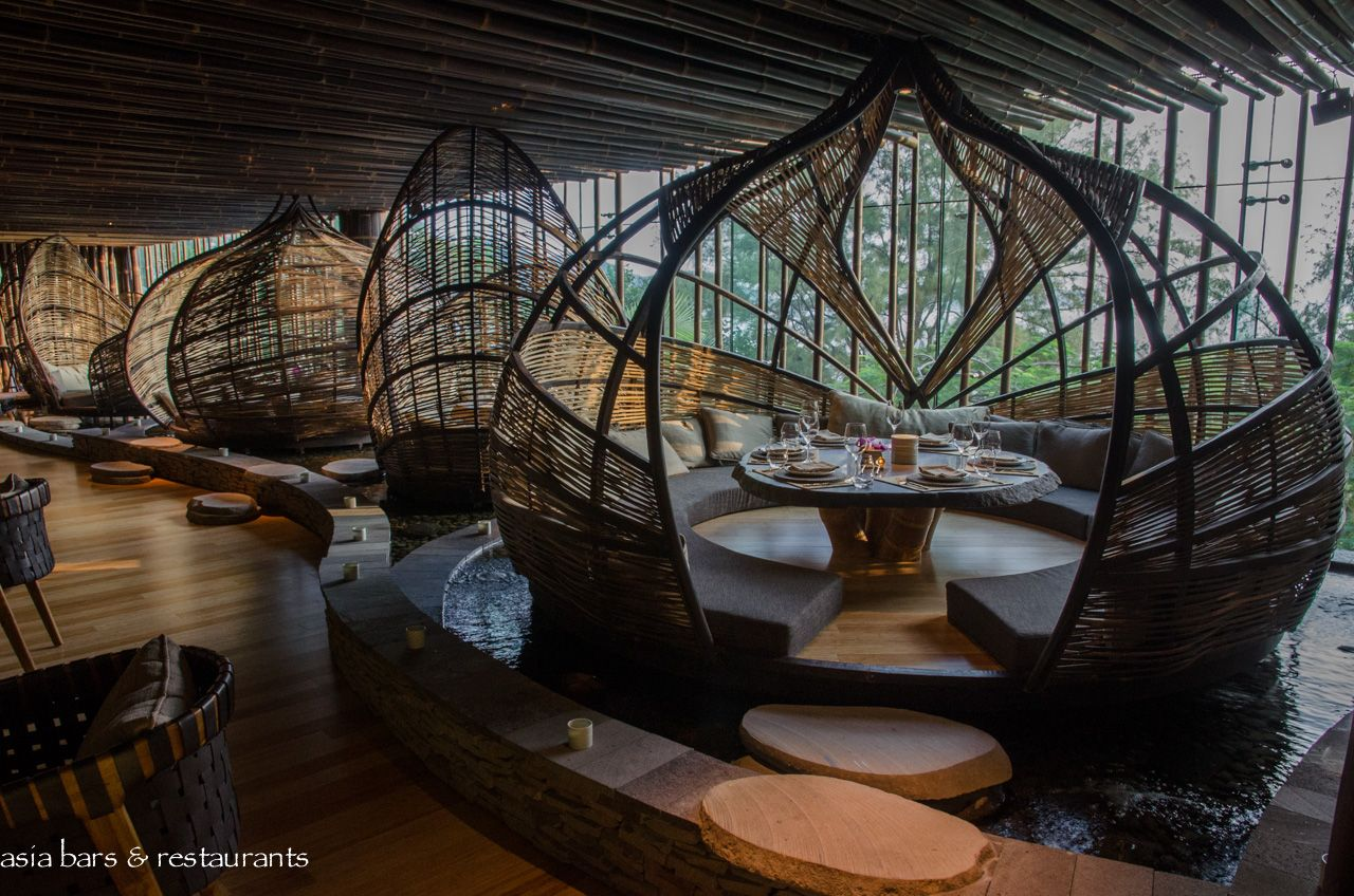 Tri contemporary balinese restaurant in hong kong asia