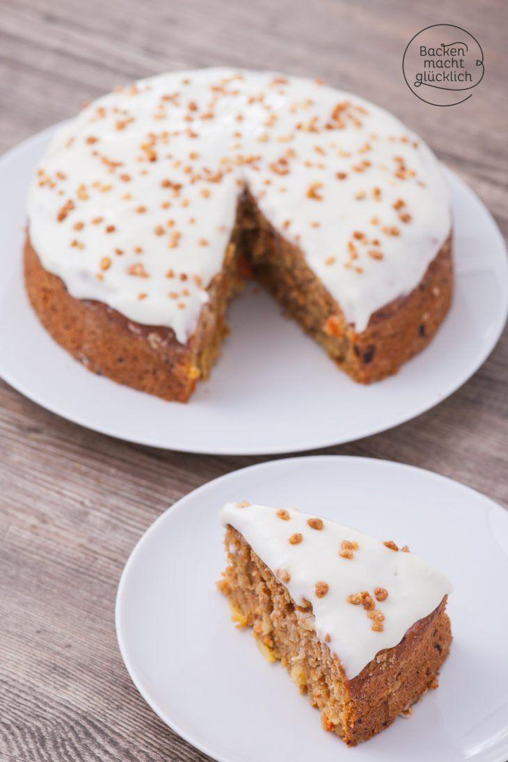 fettarmer saftiger karottenkuchen rezept backen s karottenkuchen karotten kuchen und. Black Bedroom Furniture Sets. Home Design Ideas