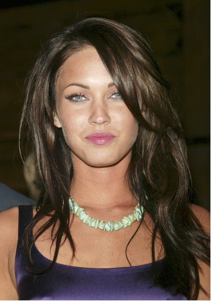 long bob hairstyles   Hairstyle With Long Layered Bangs Combed Women - Layered Haircuts For ...