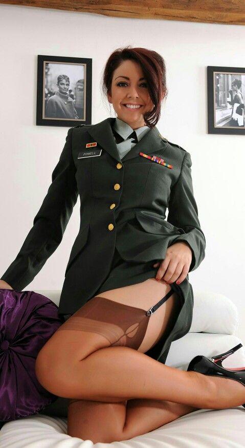 uniform pantyhose Military
