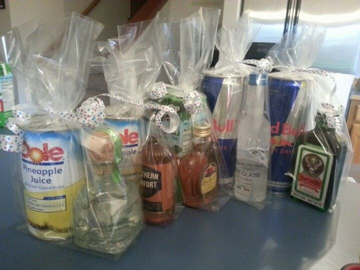 Adult party favors liquor and chasers guests will love for Cheap party ideas for adults