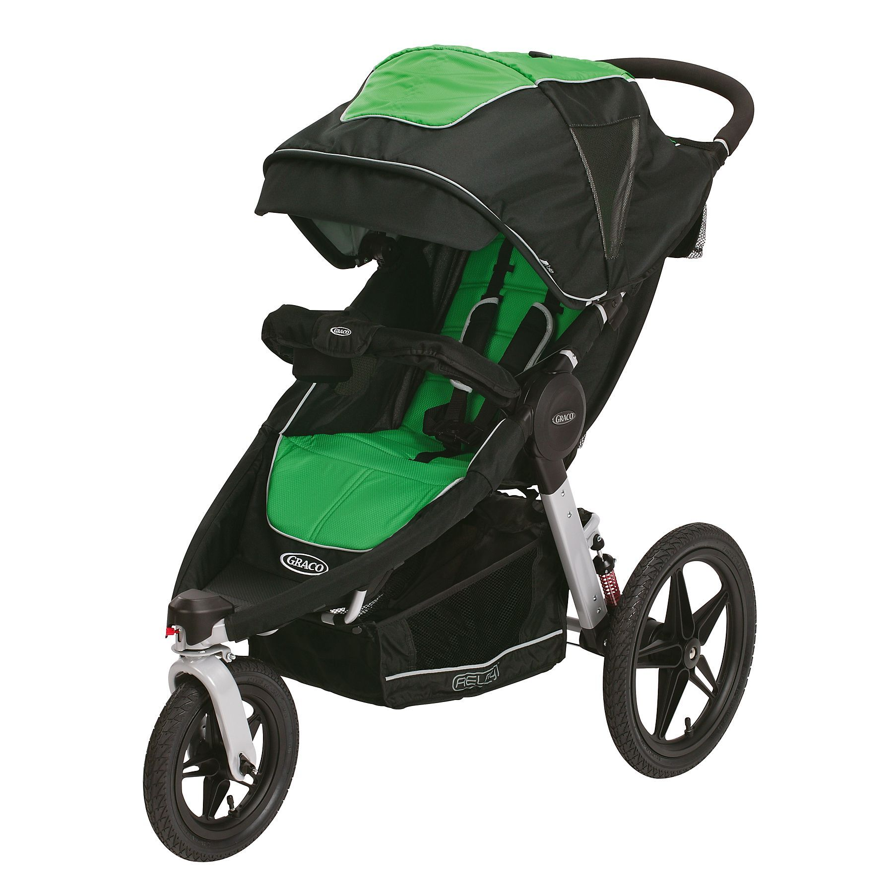 Graco Relay Click Connect Performance Jogger in Fern